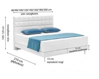 łóżko kontynentalne 102