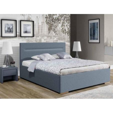 Łóżko tapicerowane Vigo z pojemnikiem na pościel