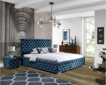 Łóżko tapicerowane Havana New Elegance