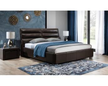 Łóżko tapicerowane Bergamo z pojemnikiem na pościel New Elegance