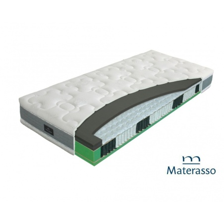 Materac Hybrid duospring