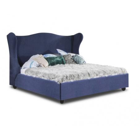 Łóżko tapicerowane Tiffany z pojemnikiem na pościel