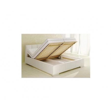 Łóżko z pojemnikiem na pościel 80271KF
