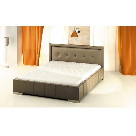 Łóżko z pojemnikiem na pościel 80277KF