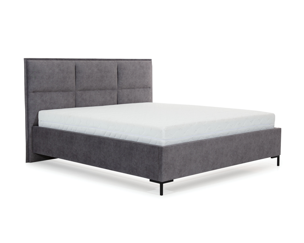 Łóżko tapicerowane Nord z pojemnikiem na pościel New Elegance