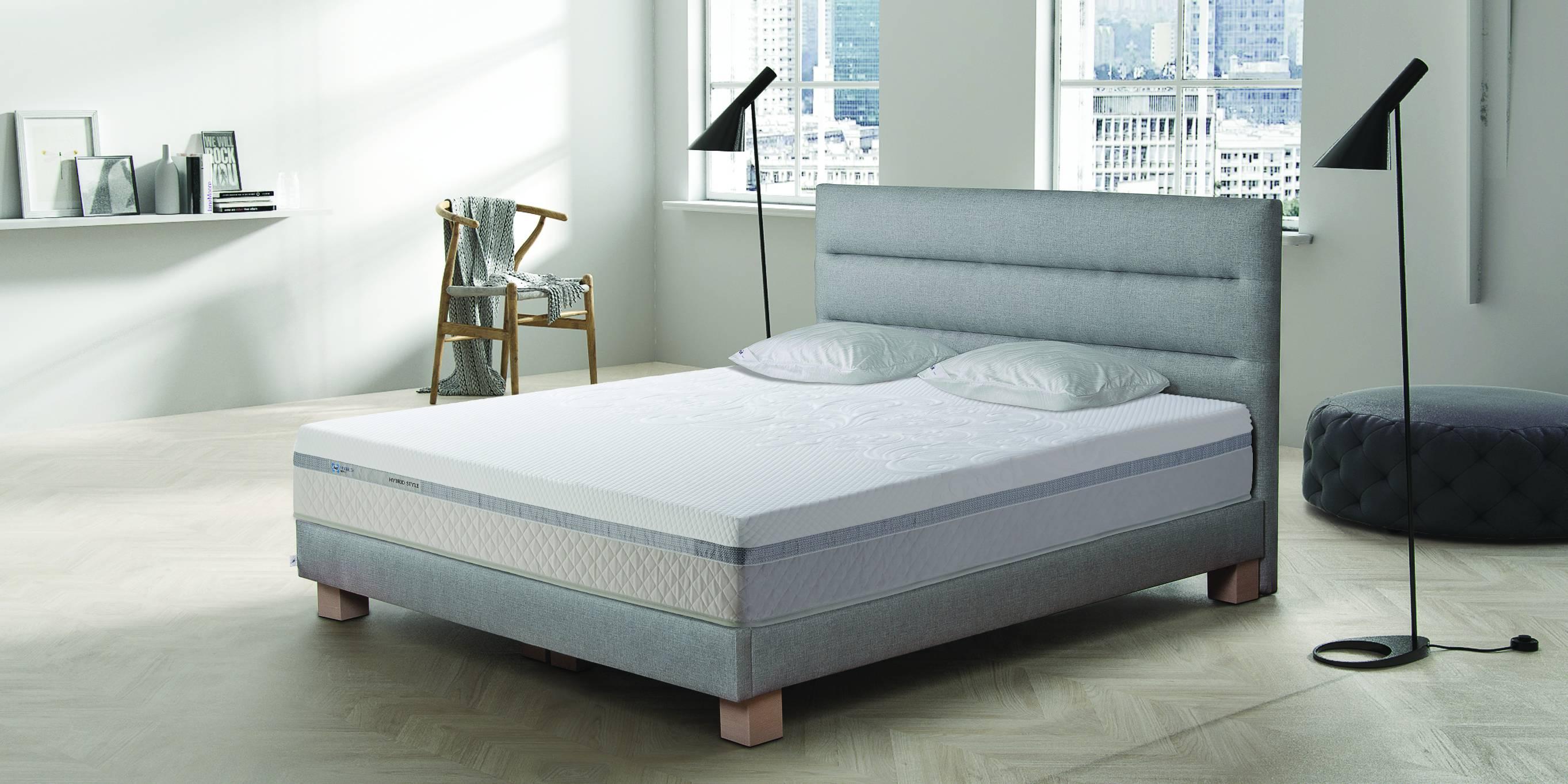 łóżko tailor sealy za 1 zł do materaca hybrid