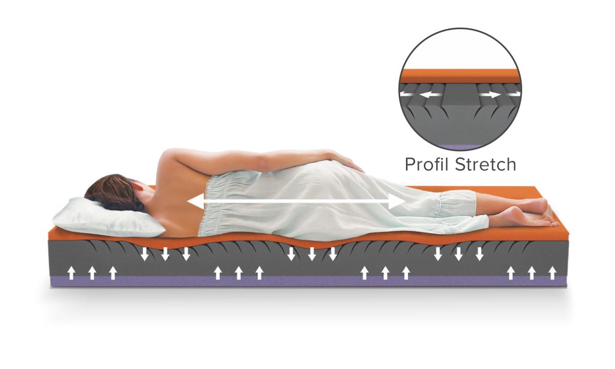 back stretch materasso