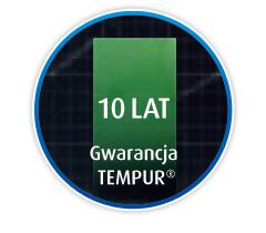 Tempur 10 lat gwarancji