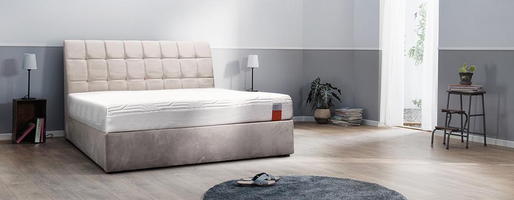 łóżko trunk tempur za 1100 zł do materaca