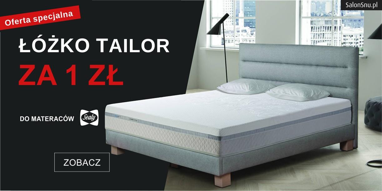 promocja tempur tailor łóżko za 1 zł na salonsnu.pl