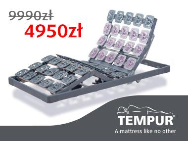 stelaż tempur 4000 za pół ceny
