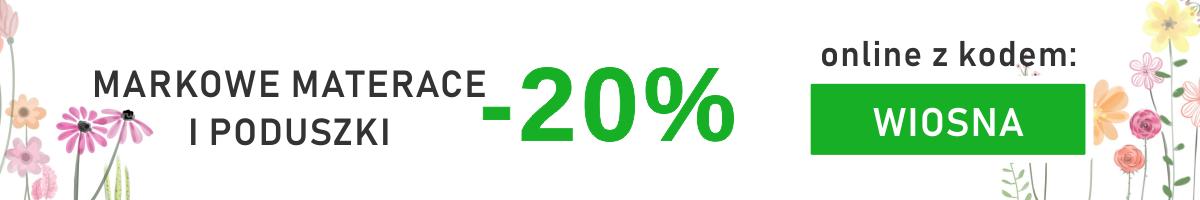 WIOSNA -20% RABATU